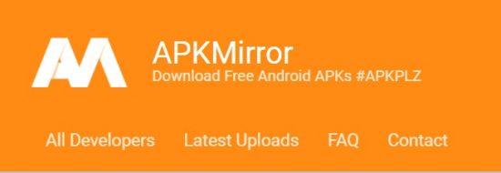 apkMirror android apps market