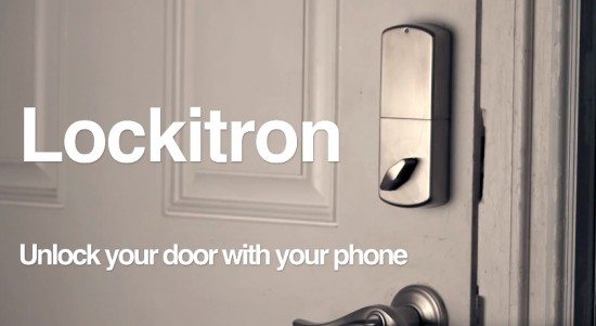 unlock deeor with smartphone using Lockitron