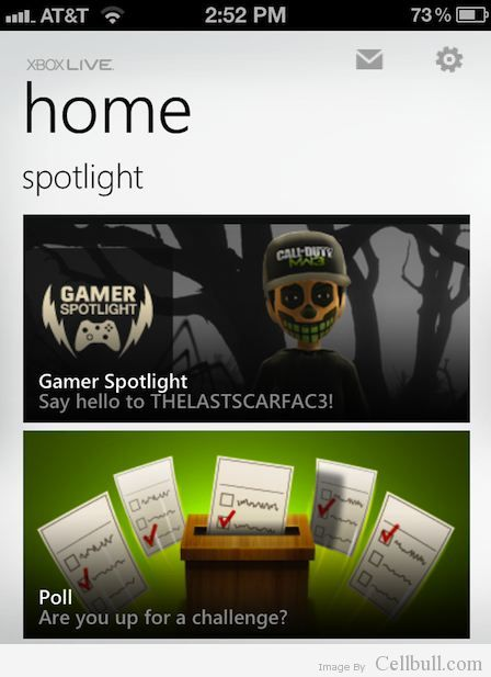 Official Xbox LIVE App For iPhone, iPad, iPod touch is Available For Download