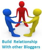 build relatioship bloggers