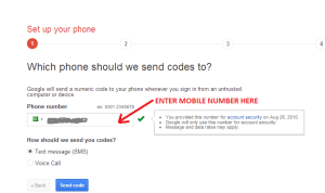 Google 2 step verification 1