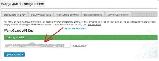 wangguard plugin configuration