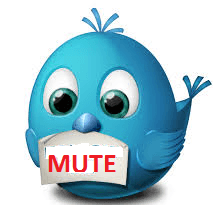 mute people on twitter