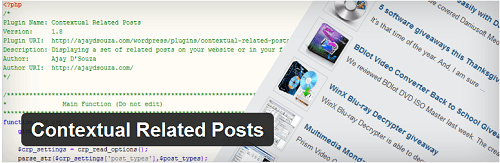 contextual related post wordpress plugin