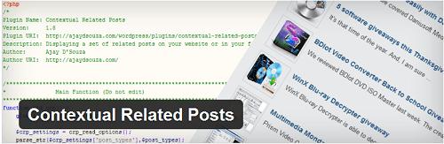 contextual related post wordpress plugin