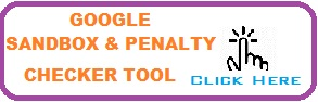 Google Sandbox and Penalty Checker Tool Link