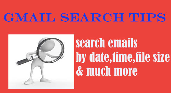 Gmail search tips to search email by time and date 2