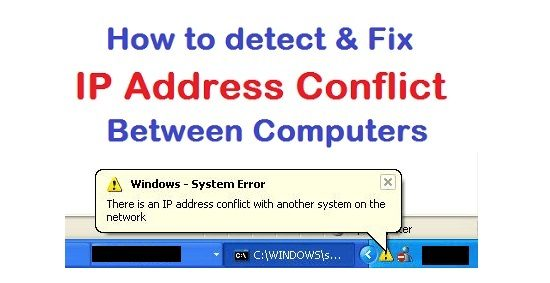 ip address conflict detect and fix