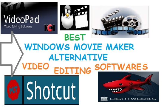 Best Alternative to Windows Movie Maker Software (Free and Paid)