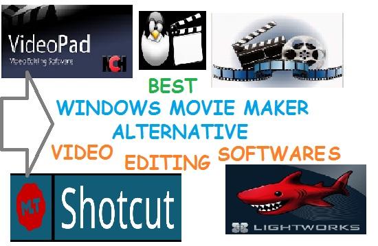 best windows movie maker alternative video editing software