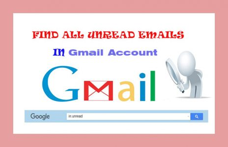 find all unread emails in Gmail account