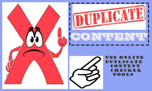 Free online Duplicate Content Checker Tools