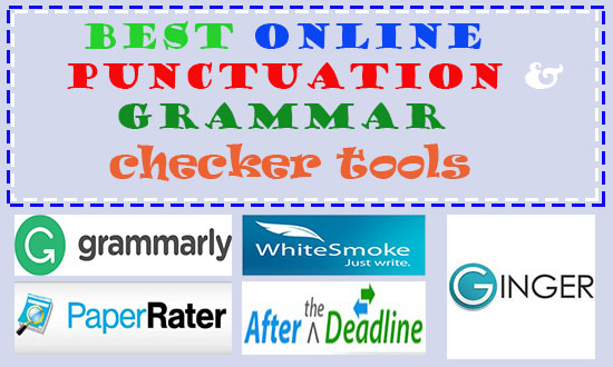 10 Best Free Online Punctuation Checker Tools to Correct Grammar Mistakes
