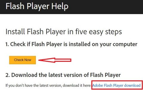 adobe flash player for pc