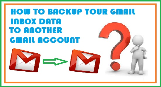 backup Gmail email data to another gmail account online