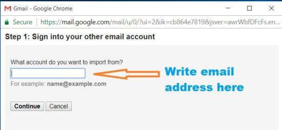 gmail account backup options