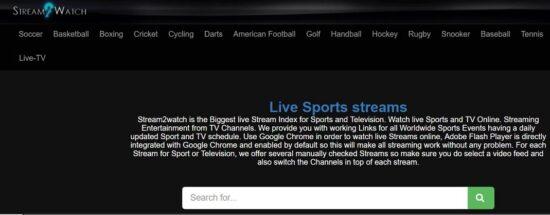 stream2 watch live sports online free