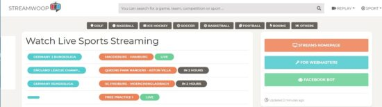 streamwoop free live sports streaming website