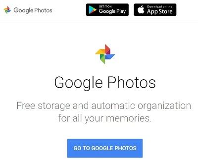 google photos storage service