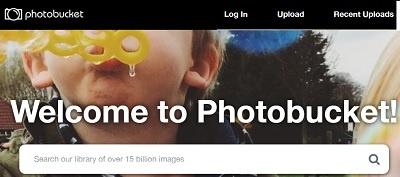 photo bucket image hosting service
