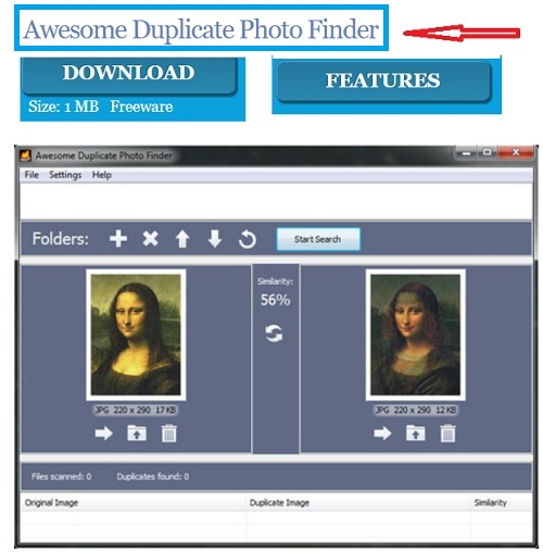 awesome duplicate finder