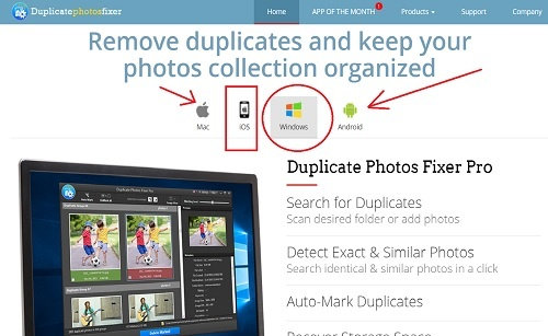 duplicate photo fixer for windows mac android and ios