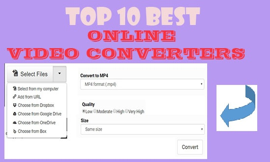 Top Best Online Video Converters