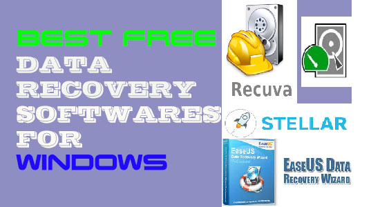 6 Best Free Data Recovery Software Tools for Windows