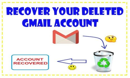 recover deleted gmail account easily