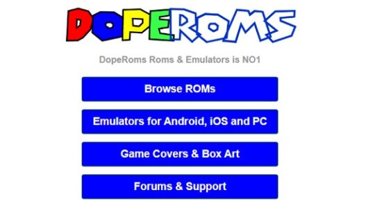DopeROMS - best rom site