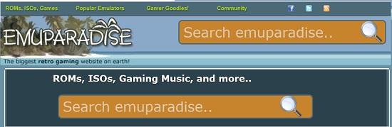Emuparadise ROM Site