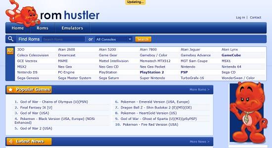 RomHustler- safe ROM site