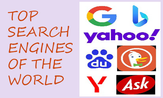 top search engines of the world